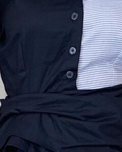 Doyin Dress - Navy