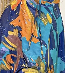 Chanel Dress - Blue hues