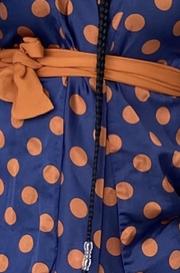 Alba kimono- blue polka dot